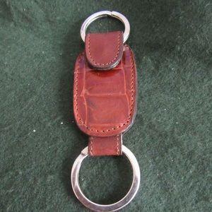Christian Dior valet key fob ring keychain